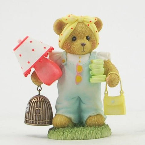 Enesco 4030481 - Cherished Teddies Girl with Lamp Nicole