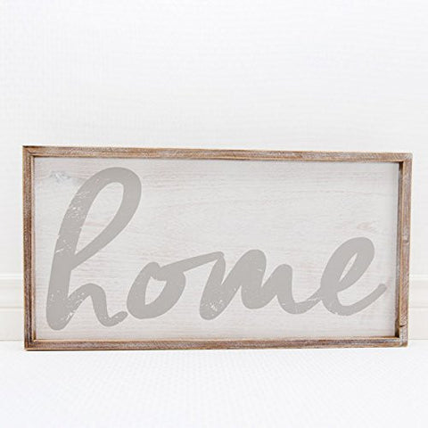 Framed Sign (Home)