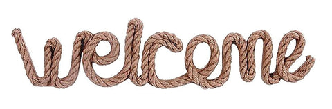 DEI 20487 - Rope Welcome Sign