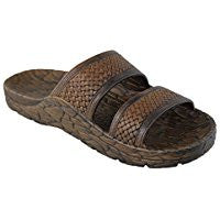 Pali Hawaii Sandals Jandals Brown Size 9