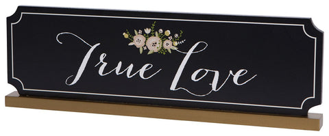C.R. Gibson WTS-14330 -  Wedding Table Sign, True Love