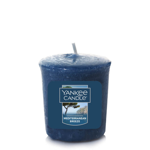 Yankee Candle - 1.75 Oz Mediterranean Breeze Votive Sampler