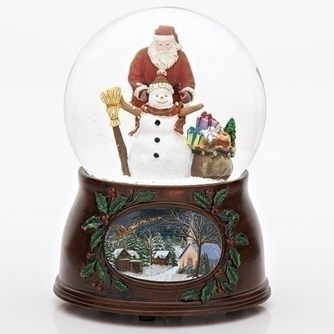 Roman Inc 34310  Mus US 5100MM Santa/Snowman Dome