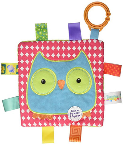 Mary Meyer Taggies Crinkle Me Toy, Owl