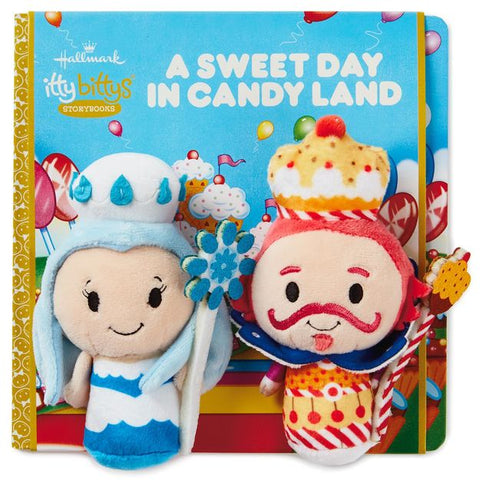 Hallmark itty bittys® A Sweet Day in Candy Land Stuffed Animal and Storybook Set