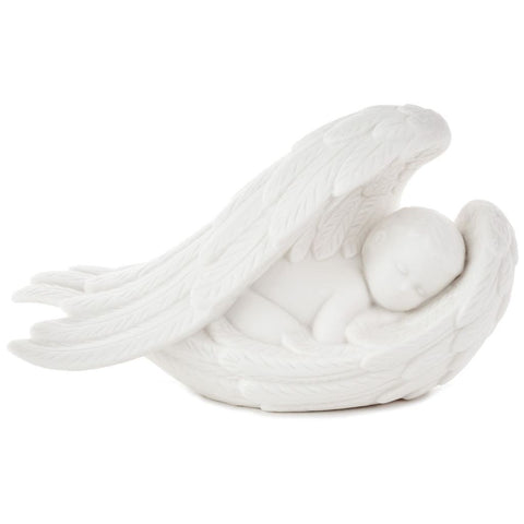 Hallmark Baby in Angel Wings Figurine