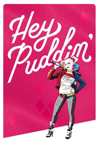 Hallmark Harley Quinn Hey Puddin' Birthday Card