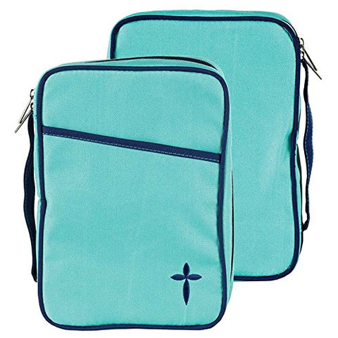 Dicksons Turquoise Denier Polyester Canvas Thinline Bible Cover