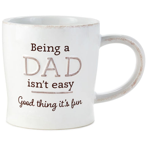Hallmark Good Thing Being a Dad Is Fun Ceramic Mug