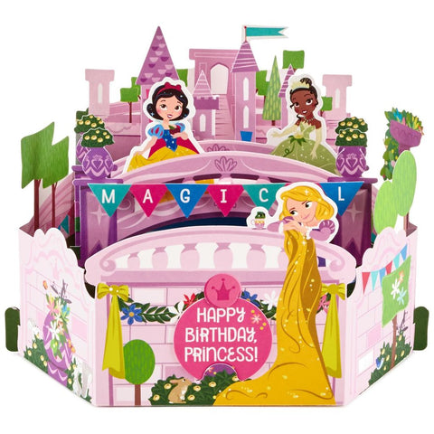 Hallmark Disney Princesses Magical Pop Up Birthday Card