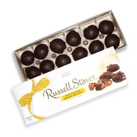 Russell Stover 9975AV Dark Chocolate Pecan Delight, 11 oz. Box