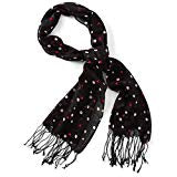 Hallmark Scarf (White With hearts or Black With hearts)