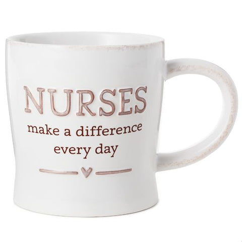 Hallmark Nurses Make A Difference Mug