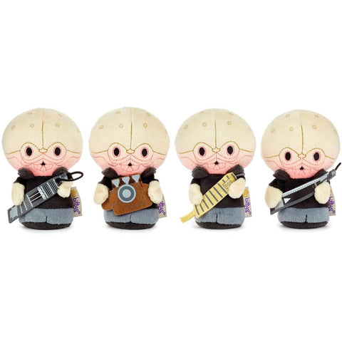 Hallmark itty bittys Star Wars Cantina Band Stuffed Animals, Collector Set of 4