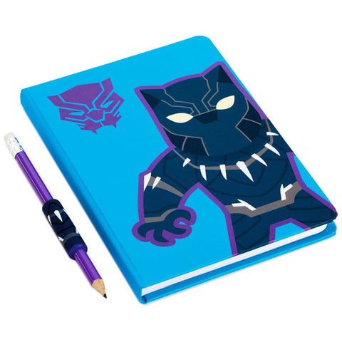 Hallmark Marvel Avengers Black Panther Journal & Pencil With Grip