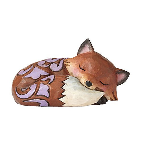 Enesco 4055058 Mini Fox Sleeping