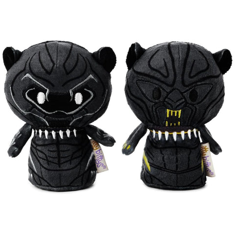 Hallmark itty bittys Marvel Black Panther and Erik Killmonger Stuffed Animals, Special Edition Set