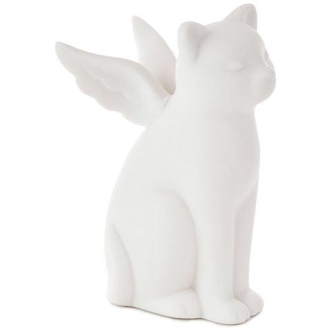 Hallmark Cat Angel Figurine