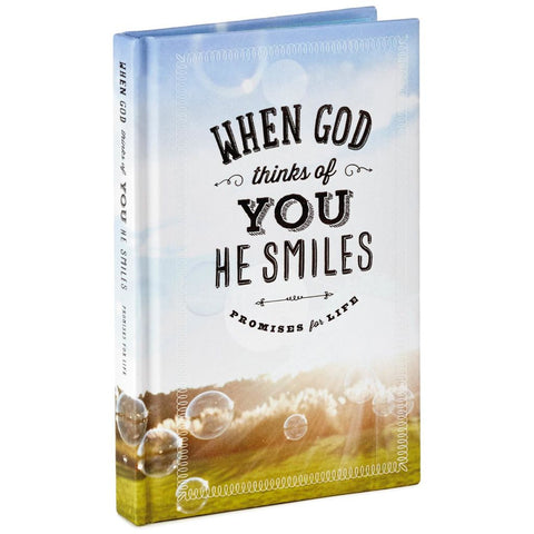 Hallmark When God Thinks of You He Smiles: Promises for Life Book