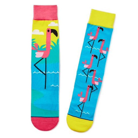 Hallmark 1SOX2103 Flamingo Socks
