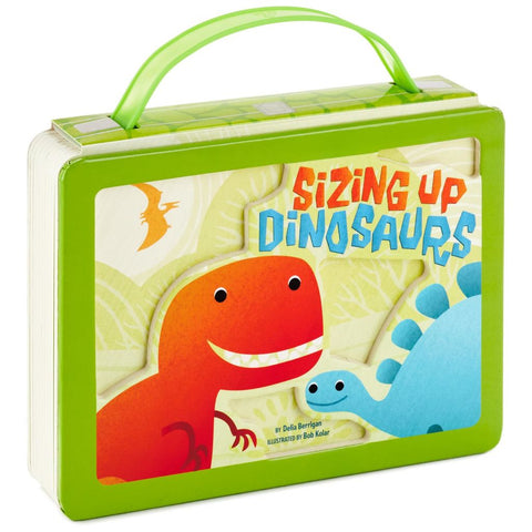 Hallmark Sizing Up Dinosaurs Board Book