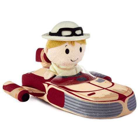 Hallmark itty bittys Star Wars Luke Skywalker in Landspeeder Stuffed Animal