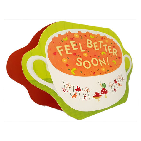 Hallmark Extra Large Greeting Card Feel Better Soon!