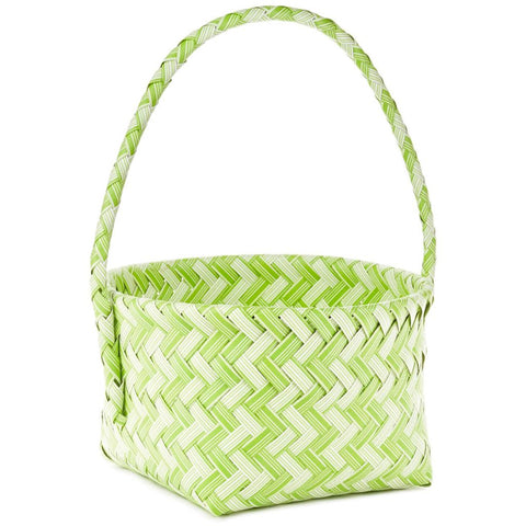 Hallmark Green Easter Basket