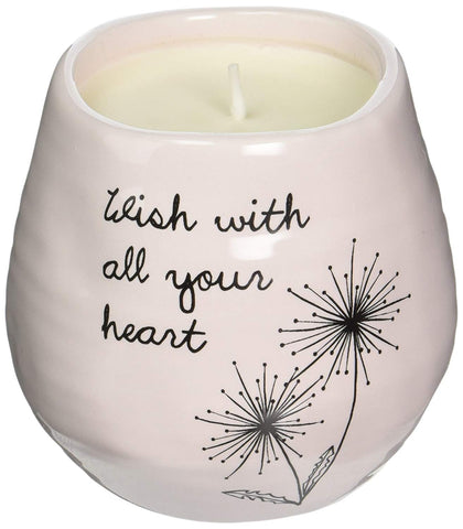 Pavilion 77112 All Your Heart  8 oz  100% Soy Wax Candle Scent: Serenity