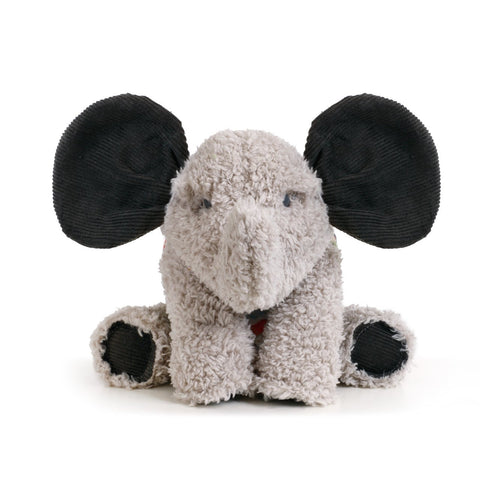 Pavilion 5004700573 Nat &Jules Ellie Elephant Gray With Corduroy Black Children's Plush Stuffed Toy