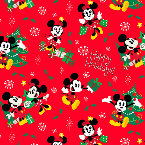 HMK XRW - Supersize Roll Wrap - Mickey Minnie Red