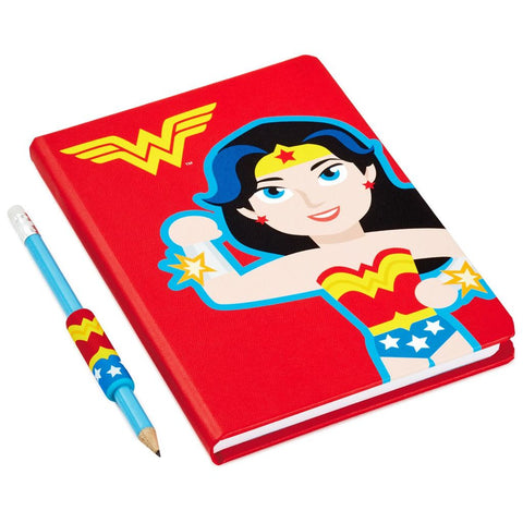Hallmark DC Comics Wonder Woman Journal Set