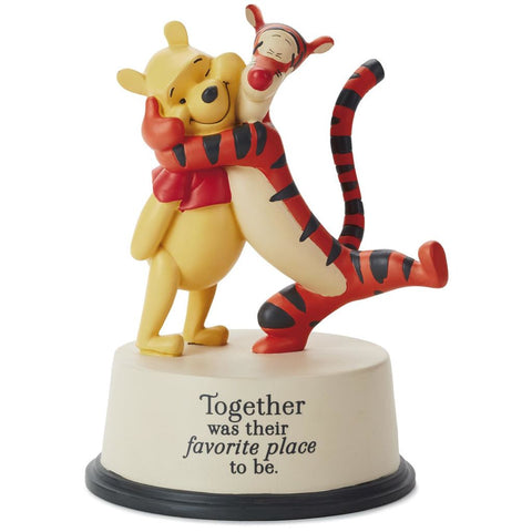 Hallmark Disney Winnie the Pooh and Tigger Together Figurine