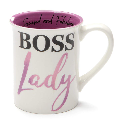 Enesco Boss Lady Mug