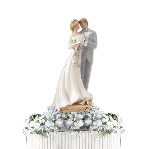Enesco 4020315 Bride and Groom Cake Topper