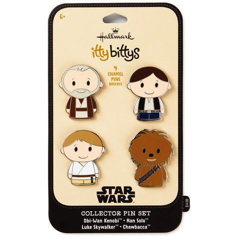 Hallmark itty bittys Star Wars: A New Hope Collectible Enamel Pins, Set of 4
