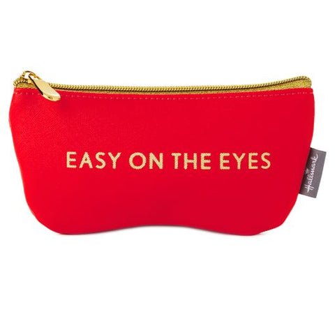 Hallmark Easy on the Eyes Eyeglass Case