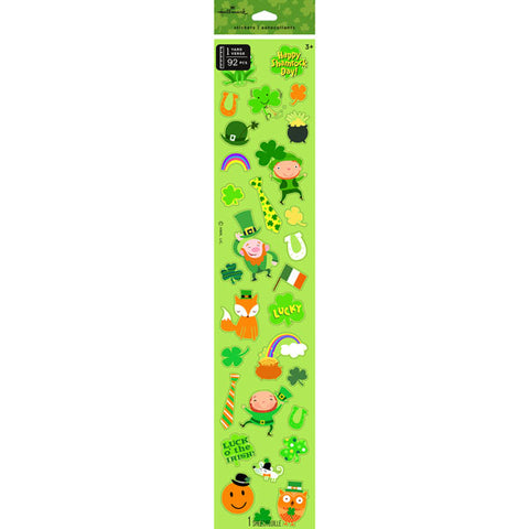 Hallmark 400SSS1026  St. Patricks Day Yard of Stickers