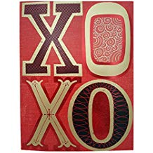 Hallmark Extra Large Valentine's Day Greeting Card XOXO
