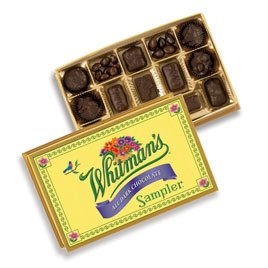 Russel Stover 7018 Whitman's Sampler Dark Chocolates, 12 oz. Box