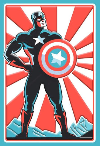Hallmark Captain America Better Than Ever Birthday Card
