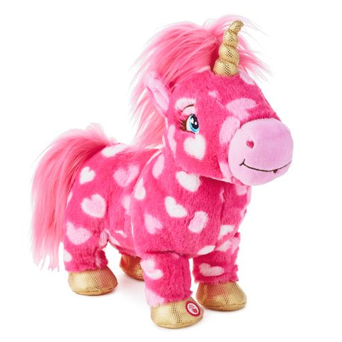 Hallmark Love Is Magic! Unicorn Musical Stuffed Animal With Motion, 11.5""