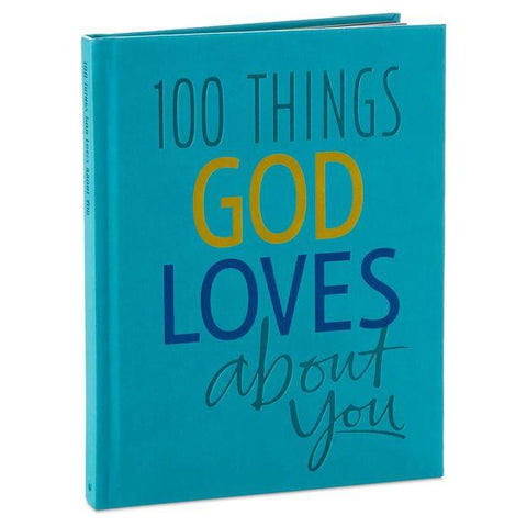 100 Things God Love About You Book