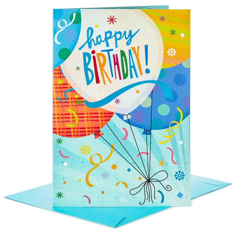 Hallmark Balloons for Fun Pop Up Jumbo Birthday Card