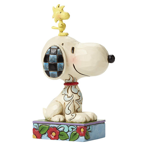 Enesco Jim Shore Snoopy and Woodstock Personality