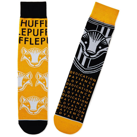 Hallmark Harry Potter Hufflepuff Novelty Socks