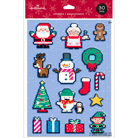 HMK CHR - 8 Bit Christmas Stickers