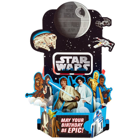 Hallmark Star Wars Epic Pop Up Birthday Card