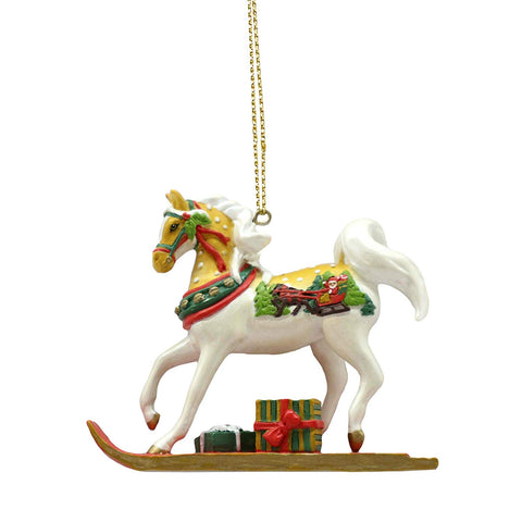 Enesco Trail of Painted Ponies Sleigh Ride Hanging Ornament