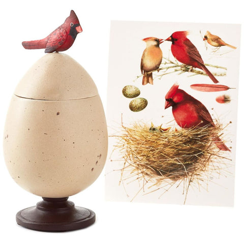 Hallmark Marjolein Bastin Special Edition Egg and Cardinal Treasure Box
